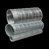 Круглые оцинкованные воздуховоды (спирально-навивные)